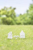 家の模型 11004121153| 写真素材・ストックフォト・画像・イラスト素材|アマナイメージズ