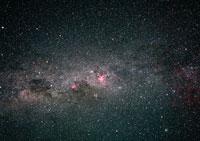 りゅうこつ座η星と天の川
