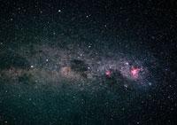 コールサックと天の川 11007012791| 写真素材・ストックフォト・画像・イラスト素材|アマナイメージズ