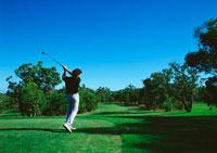 ゴルフ 11007013062| 写真素材・ストックフォト・画像・イラスト素材|アマナイメージズ