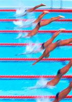 水泳 11007013090| 写真素材・ストックフォト・画像・イラスト素材|アマナイメージズ