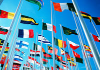 万国旗 11007013150| 写真素材・ストックフォト・画像・イラスト素材|アマナイメージズ