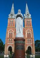 サイゴン大教会 11007017880| 写真素材・ストックフォト・画像・イラスト素材|アマナイメージズ