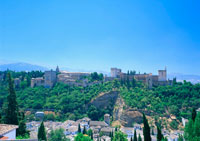 アルバイシンの町並 11007018626| 写真素材・ストックフォト・画像・イラスト素材|アマナイメージズ