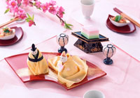 雛寿司 11007020784| 写真素材・ストックフォト・画像・イラスト素材|アマナイメージズ