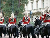 騎馬隊の近衛兵