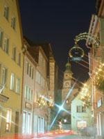 ロマンチック街道のローテンブルクの街角 11007034044  写真素材・ストックフォト・画像・イラスト素材 アマナイメージズ