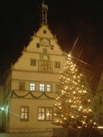 市庁舎とクリスマスツリー 11007034045  写真素材・ストックフォト・画像・イラスト素材 アマナイメージズ