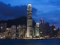 国際金融中心の夜景