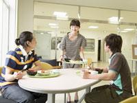学生食堂 11007037220| 写真素材・ストックフォト・画像・イラスト素材|アマナイメージズ
