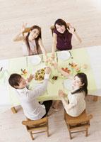 ワインパーティー 11007057801| 写真素材・ストックフォト・画像・イラスト素材|アマナイメージズ