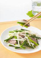 豚肉とニンニクの芽炒め