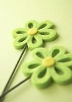 フェルトの花