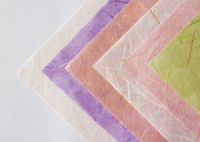 色とりどりの和紙