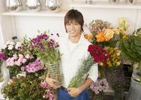 花屋の店員