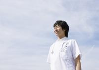 笑顔の看護師 11007064908  写真素材・ストックフォト・画像・イラスト素材 アマナイメージズ