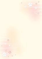 桜と波紋のイメージ