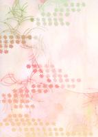 菊と松葉と月の秋イメージ