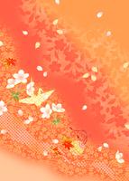 折り鶴と鈴 11007065640| 写真素材・ストックフォト・画像・イラスト素材|アマナイメージズ