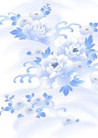 牡丹に波 11007065756| 写真素材・ストックフォト・画像・イラスト素材|アマナイメージズ
