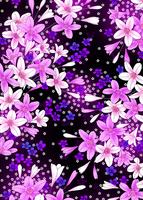 百合と小花