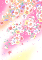 ロマンチック桜
