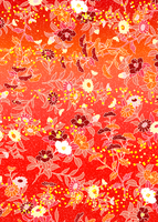 ひな菊に椿