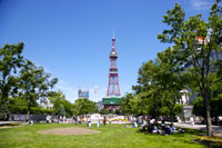 Television tower in Odori Park