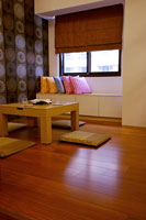 Japanese style domestic room