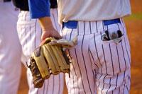 Baseball players, mid section