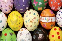 Decorated eggs 11010009786| 写真素材・ストックフォト・画像・イラスト素材|アマナイメージズ