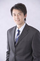 businessman in suit and tie 11010010544| 写真素材・ストックフォト・画像・イラスト素材|アマナイメージズ