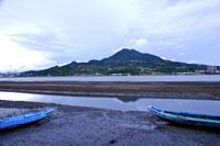 Guanyin Mountain, boats