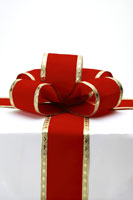 Gift with bow