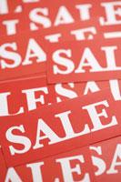 Sale signs 11010039626| 写真素材・ストックフォト・画像・イラスト素材|アマナイメージズ