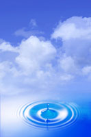 Ripple water 11010040047| 写真素材・ストックフォト・画像・イラスト素材|アマナイメージズ