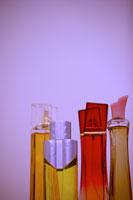 Bottles of perfumes