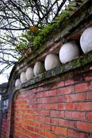 Hakka architecture, brick wall