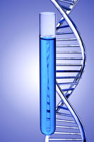 DNA structure in test tube