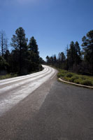 Yellowstone National Park, Winding road
