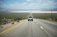American West, Car on road