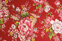 Chinese style floral pattern
