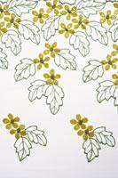Floral Pattern Fabric 11010041214| 写真素材・ストックフォト・画像・イラスト素材|アマナイメージズ