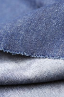 Close up of denim