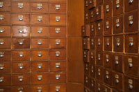 Chinese medicine pharmacy drawers