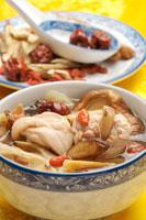 Mushroom And Chicken Soup