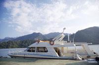 Shihmen Reservoir, yacht