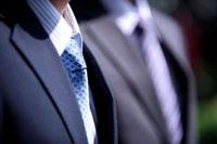 Close-up man's suit with shirt and tie 11010043788| 写真素材・ストックフォト・画像・イラスト素材|アマナイメージズ