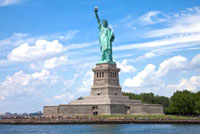 Statue of Liberty,Liberty Island,New York City,New Yor