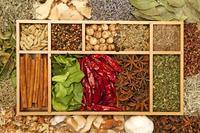 Spice, Pepper, Cardamom, Chili, Lemon Grass, Cinnamon, Star